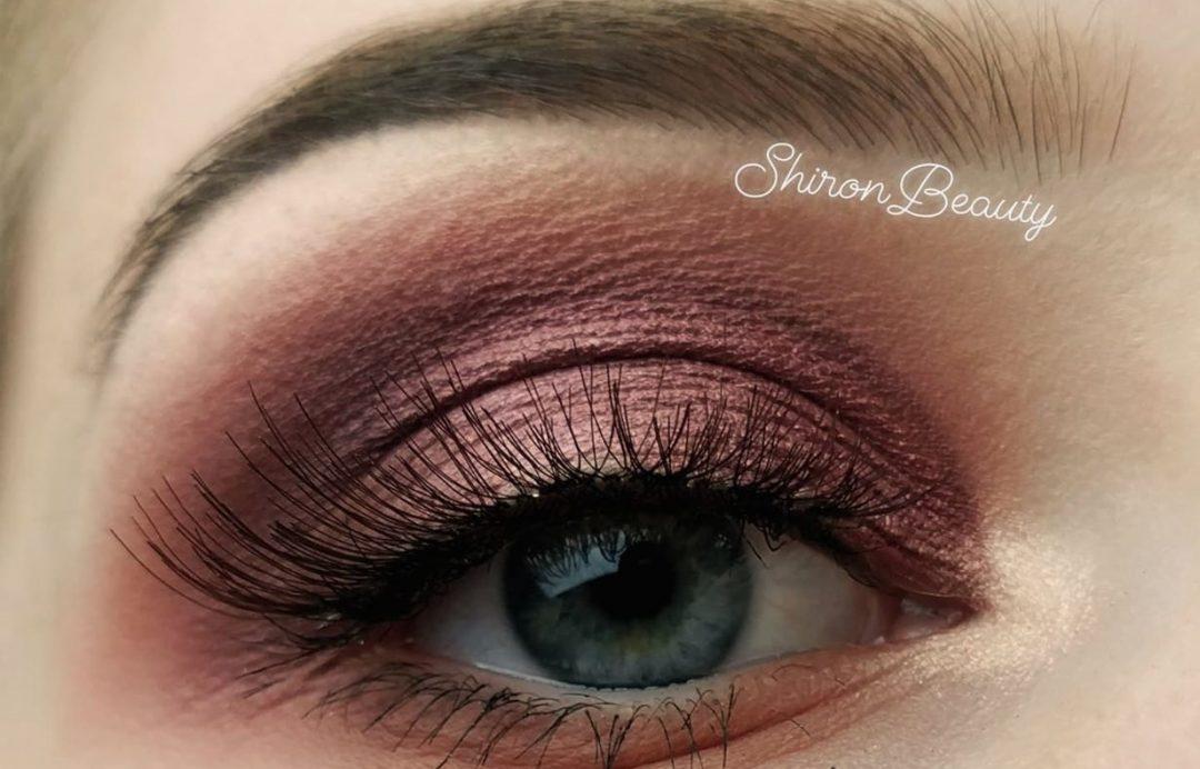 makijaż w stylu glamour