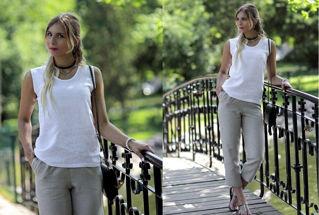 dlaczego warto nosić lniane ubrania
