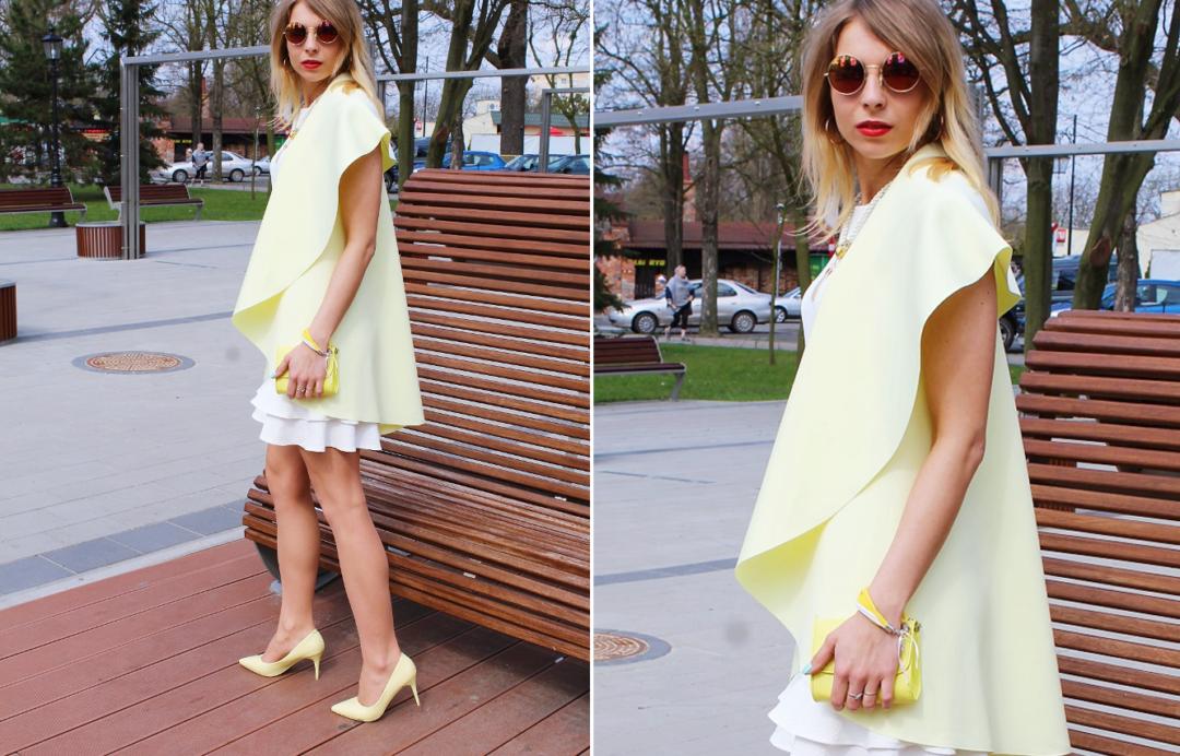 jak nosić białą sukienkę