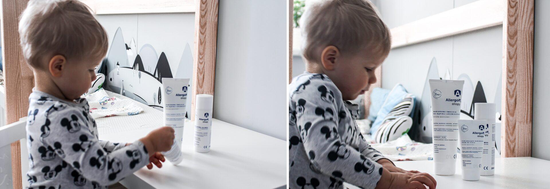 jak dbać o skórę dziecka z azs