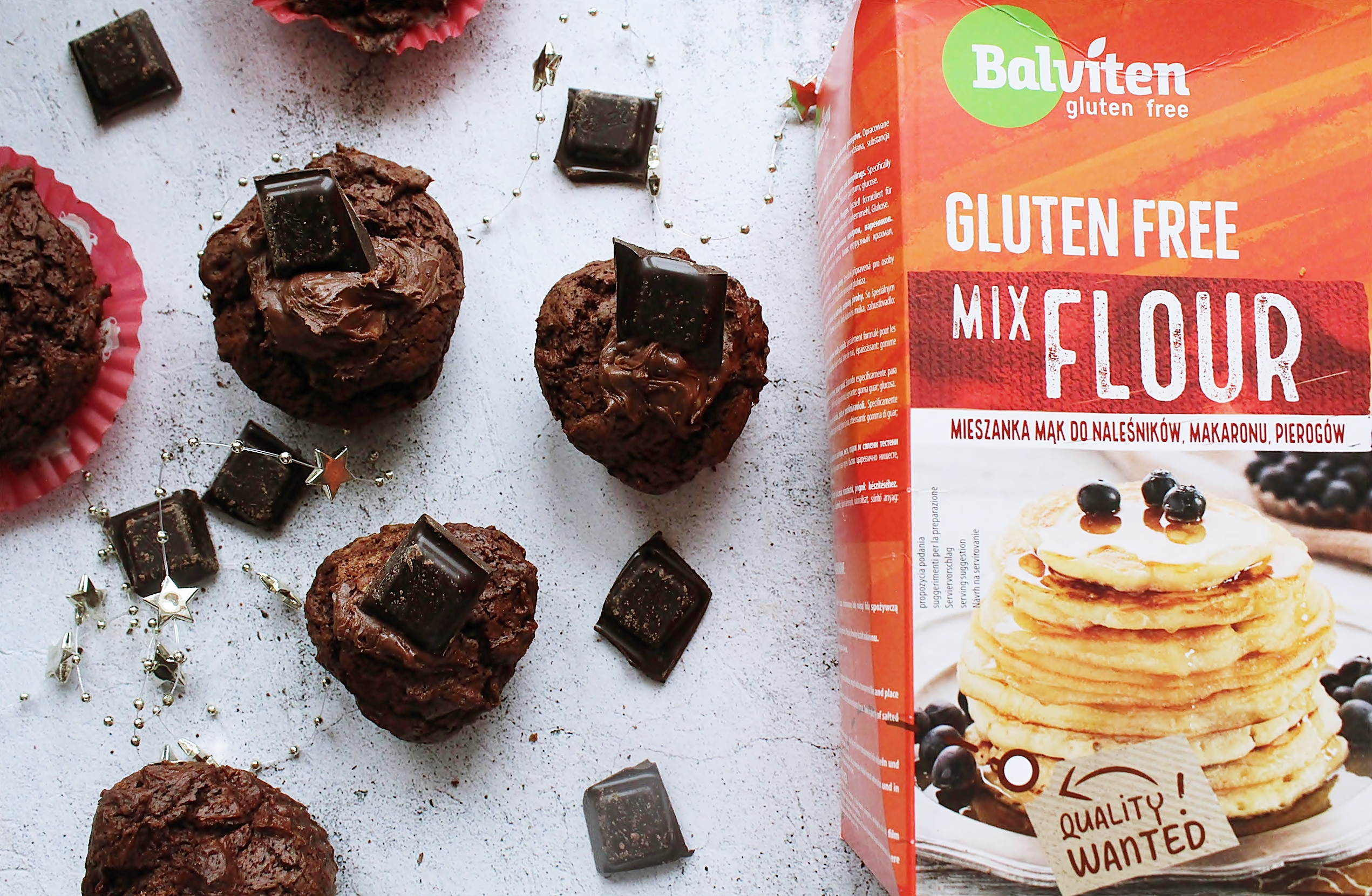 babeczki brownie