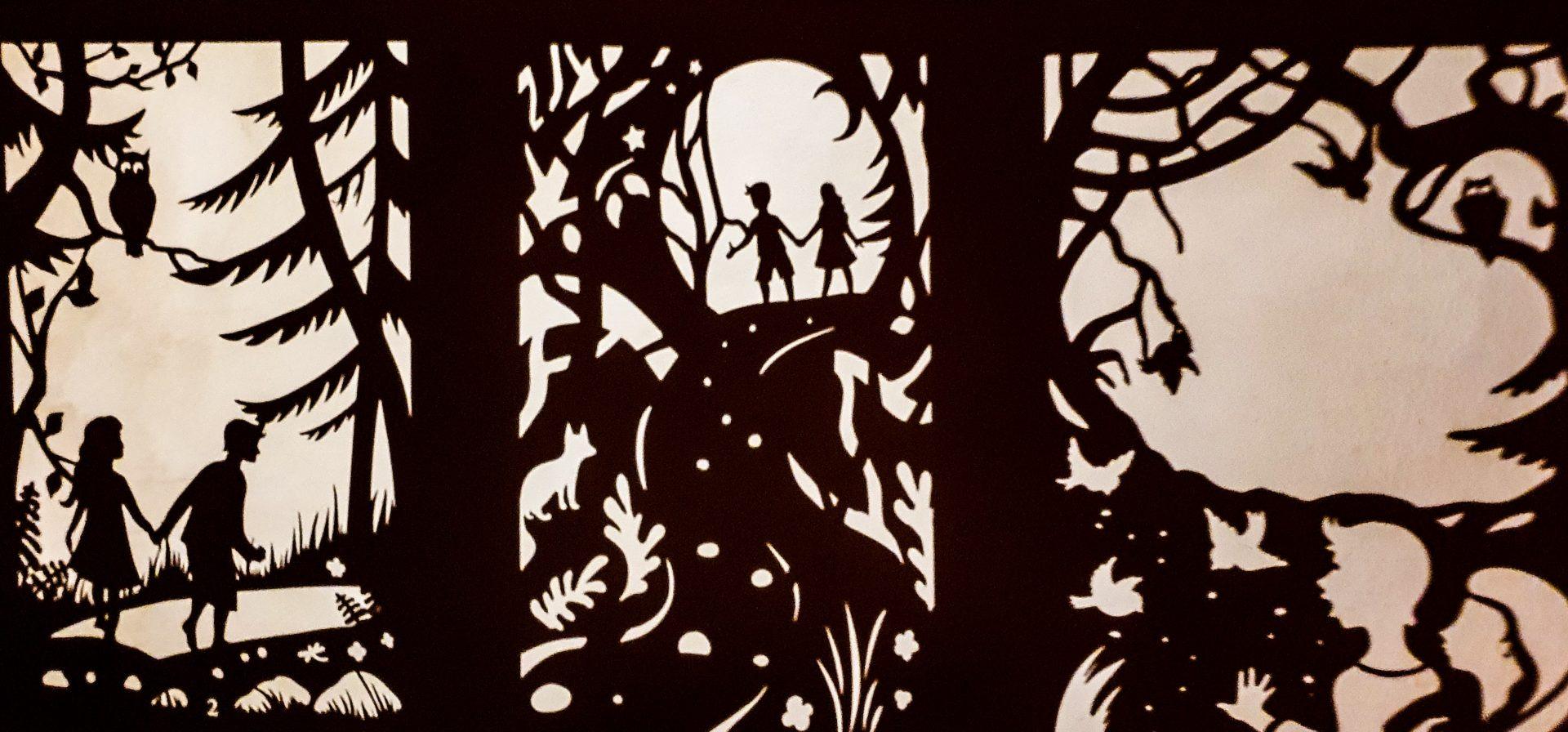 jaś i małgosia teatr cieni