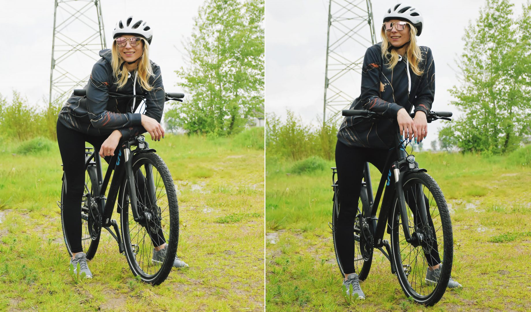 stylizacja na wycieczkę rowerową