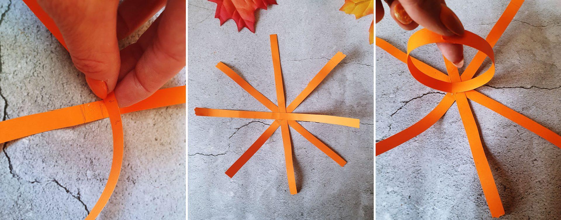 jak zrobić dynię z papieru