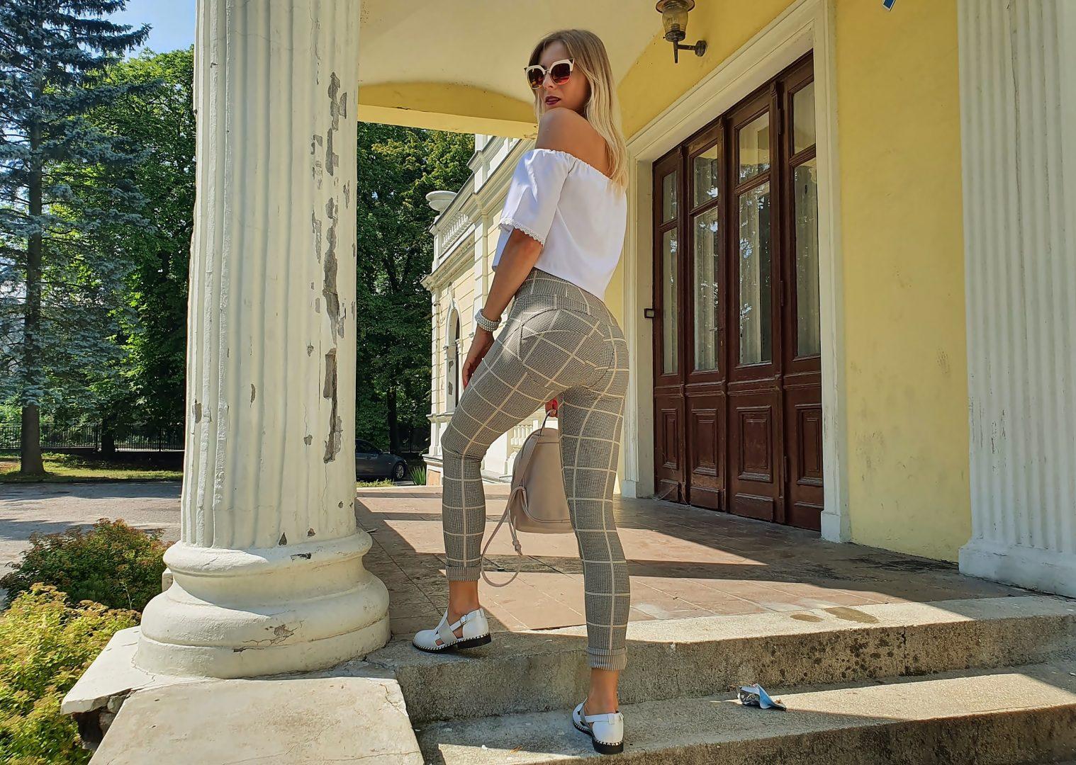 spodnie modelujące pośladki