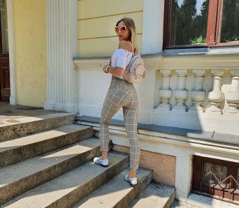 spodnie modelujące pupę